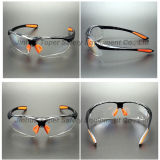 Type de sports verres de sûreté de lentille de miroir d'arc-en-ciel avec la garniture (SG115)