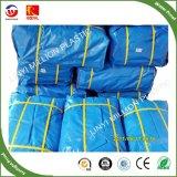 100gsm cinza/azul/Prata PE oleados para cobrir