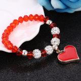 Braccialetti elastici del cuore per le donne fatte a mano