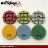 Пусковая площадка Bond диаманта смолаы меля для полировать бетона/гранита/мраморный