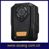 Construído na câmera desgastada da polícia de Ambarella A7 HD 1080P da visão noturna do GPS IR corpo video cheio