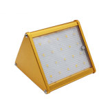 Integrated Outdoor Solar LED Garden Light with Motion Sensor Lamp