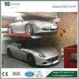 공장 가격 2 수준은 골라낸다 포스트 차 엘리베이터 유압 차 주차 (POP20/2100)를