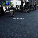 Ce сертифицирована высококачественный спортзал резиновый коврик
