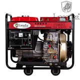 5kv 5kVA 5kw leiser beweglicher Dieselgenerator-Preis mit Rädern