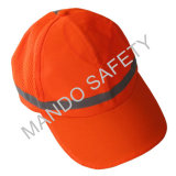 100%年のポリエステル高い可視性の反射帽子