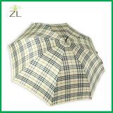 Parapluie droit automatique de golf du tissu 27inch*8K de trellis