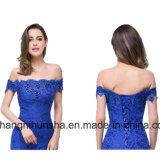 Com Filete de cristal elegante Royal Lace Mermaid Dress vestido bata