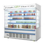 Remote Compressor를 가진 슈퍼마켓 Multideck Open Display Cooler Freezer