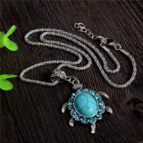 素晴らしい出荷の女性の宝石類の自然な石造りのラインストーンのネックレス