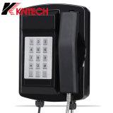 Водонепроницаемый телефон Knsp-18LCD с ЖК-дисплеем