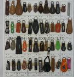 Vêtement de haute qualité Custom prix bon marché Fashion Extracteur de fermeture à glissière en cuir