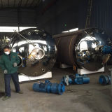 Aquecimento a Vapor de aquecimento eléctrico sanitárias o Tanque de Aço Inoxidável 1000L 2000L