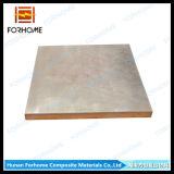 Acier plaqué d'acier inoxydable deux plaques en métal avec la soudure de décomposition