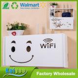 Voltear el router inalámbrico de estante de la caja de bloque de la caja de almacenamiento WiFi