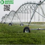 Sistema de irrigación de centro usado máquina movible agrícola del pivote de la irrigación de las hojas de ruta (traveler) de la regadera
