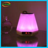 Altoparlante multifunzionale creativo di Bluetooth dell'orologio e della lampada del LED