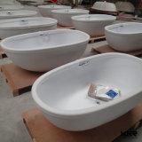 Het kunstmatige Bad van Doubai van de Oppervlakte van de Steen Acryl Stevige Vrije Bevindende