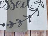 El arte de la pared de palet acento DECORACIÓN Decoración de pared simple Beata signo