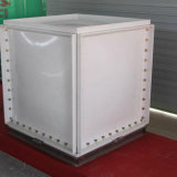 O tanque de água de PRFV quadrado instalado com Painéis