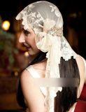 女性Lingerieまたは花嫁のベールののためのシャクヤクのレースファブリック