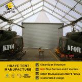 Подгонянный конструированный большой алюминиевый шатер ангара для стояночной площадки для самолетов (P1 HAF)