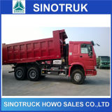 Caminhão de descarga do Tipper de HOWO 6*4 25t 20cbm 336HP 371HP