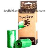 Il sacchetto Unscented di plastica di Poop del cane ha sentito il sacchetto residuo dell'animale domestico