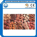 1-10t / H de un solo tornillo de alimentación de pescado flotante Extrusora / Animal de Alimentación Extrusora