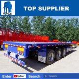 Titaan 3 Aanhangwagen van het Platform van de Aanhangwagen van Assen Flat-Bed voor Containers