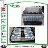 Bandejas de palets de plástico de gran contenedor plegable