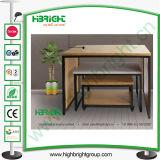 Magasin de vêtements de nidification d'affichage des tables en bois de pin pour les magasins