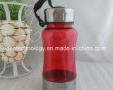 Цветные пластмассовые воды пить бутылочки BPA бесплатно в спортивный зал спорта, пластиковых бутылок