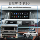 "10.25 "" Anti-Glare Carplay Auto Stereo Androïde 7.1 voor BMW 5 F10 3G Internet"