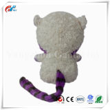 Diferentes Tamanhos Mangusto recheadas brinquedo com uma cauda longa e grandes olhos