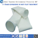 Sacchetto filtro non tessuto della vetroresina del filtrante della polvere di vendita calda per l'accumulazione di polvere