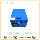 Ciclo de profunda LiFePO4 Bateria 48V 200Ah para 10kwh Solar Sistema Inicial