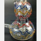 De Waterpijp van het Glas van de kleur voor de Filter van het Recycling van de Waterpijp van de Pompoen