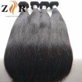 Cor Natural bruto Virgem Cabelo Malaio Extensão de cabelo humano de cabelo