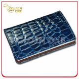 Cassa di scheda di cuoio di nome dell'unità di elaborazione di stile lucido di promozione