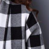 Neuer neuer Entwurfs-lange Wolljacke des Herbst-2017, die langes Oberes strickt