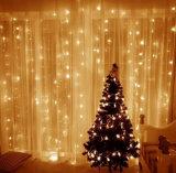 8-Función 100 LED String blanco de la luz de Navidad