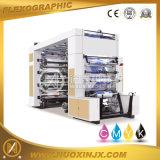 Máquina de impressão de Flexo do saco de papel de rolo da cor da alta velocidade 8