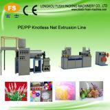 PE Knotless promocional del mercado de la máquina de extrusión Net