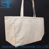 Sacchetto poco costoso personalizzato promozionale del cotone di marchio per acquisto