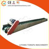 Velocidad ajustable de elevación inclinada Transportador de correa pellets de madera