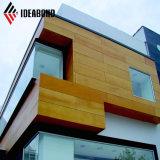Painel Composto de alumínio Ideabond olhar para a construção de decoração em madeira