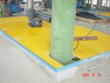 Tamanho do painel 1220mmx2440mm gradeamento moldada de fibra de vidro com Alta Resistência