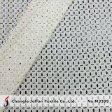Толстая ткань одежды вышивкой хлопок кружева (M3395)