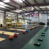 suelo de goma barato de la gimnasia de 1000mmx 1000mmx 20m m/de la gimnasia de Crossfit